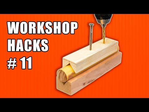 Workshop Life Hacks Episode 11: Woodworking Tips and Tricks