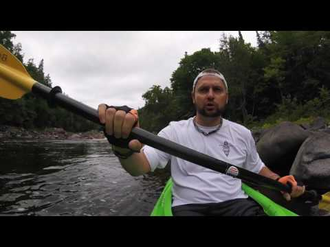 Batchawana River Paddle, Portages, Rapids in Lake Superior