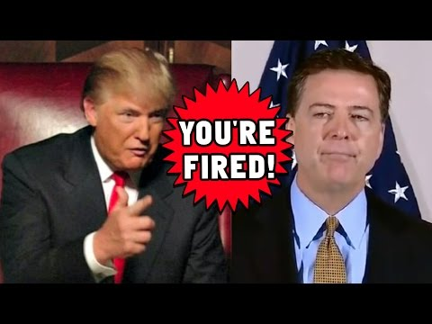 FBI Director James Comey FIRED!