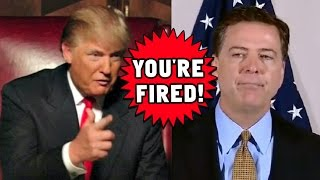 FBI Director James Comey FIRED!
