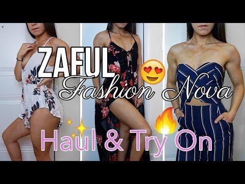 MY FIRST ZAFUL + FASHION NOVA HAUL & TRY ON || FAILS & SUCCESSES