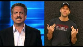 """The Sports Guy Bill Simmons And """"Dane Cook"""" Meet On The Dave Dameshek Show"""