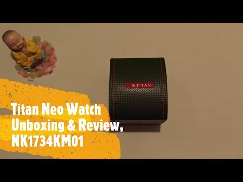 Titan Neo Analog Watch Unboxing & Review, 1734KM01