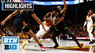Highlights: Morsell Game-Winner Completes Comeback | Maryland at Minnesota | Feb. 26, 2020