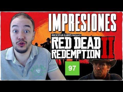 Análisis RED DEAD REDEMPTION 2 - Impresiones