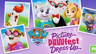 NEW Paw Patrol Game For Kids Paw Patrol Dress Up Game