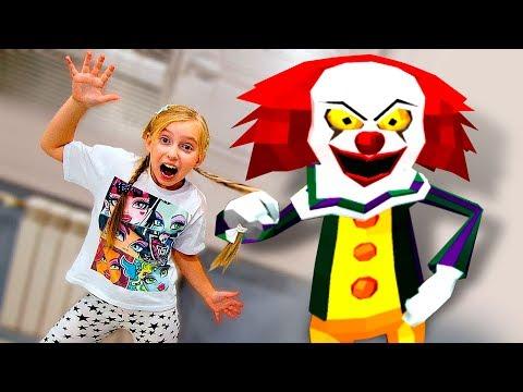 СТРАШНЫЙ КЛОУН СОСЕД ГРЕННИ Делаем Первую Концовку Против Clown Neighbor Granny Escape