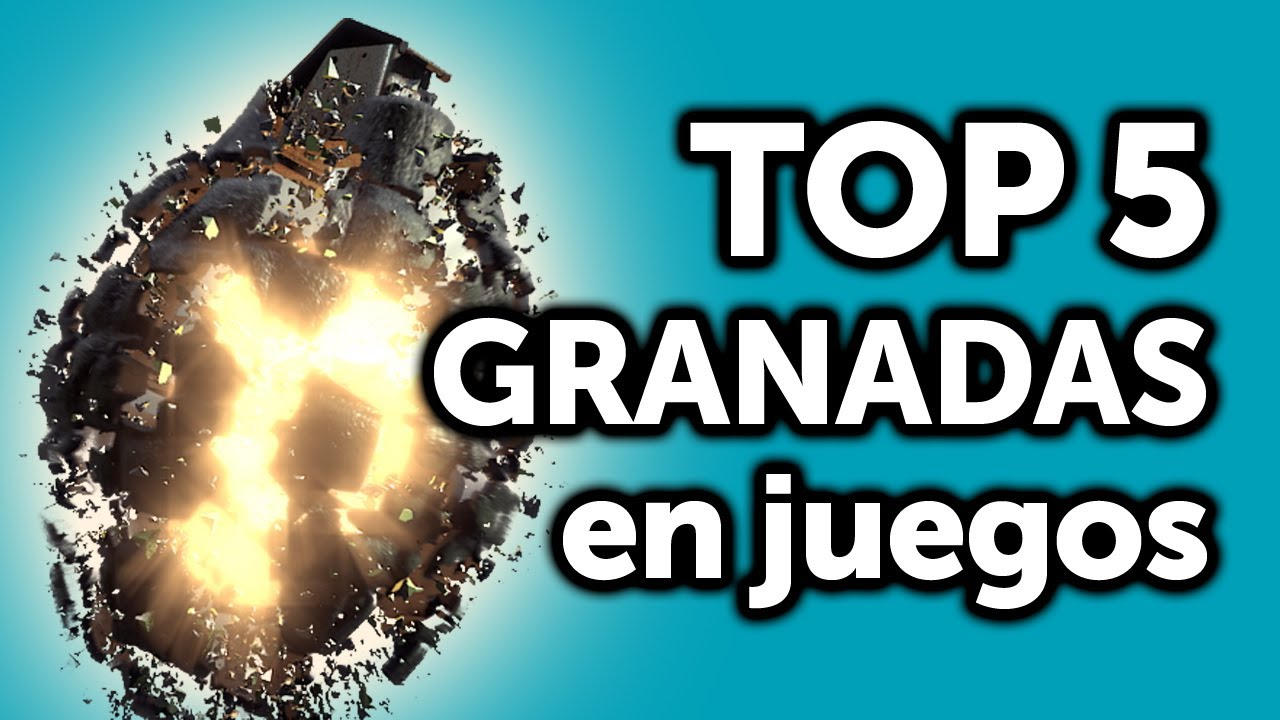Top 5 granadas en juegos youtube for Top 5 pictures