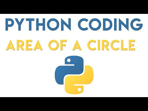 Python Tutorial - Area of a Circle thumbnail
