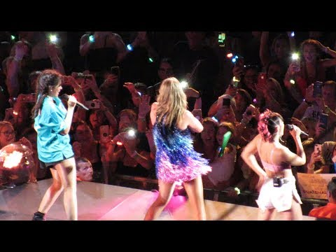 Taylor Swift Camila Cabello & Charli XCX Performing Shake It Off 81818 2