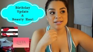 vlog bday update casual haul
