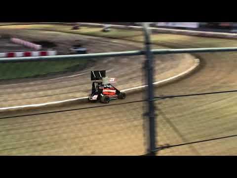 Delta Speedway Turkey Bowl 10/26/18 Jr Sprint hot laps- Cash