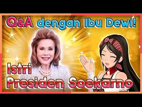 Bincang Ringan Bersama Ibu Ratna Sari Dewi (Istri Presiden Soekarno) (Vtuber Indonesia/Episode 81)