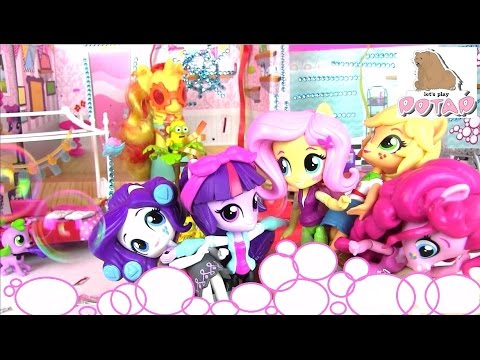 Кукла Рейнбоу Деш - распаковка и обзор Девушки из Эквестрии / Equestria Girls