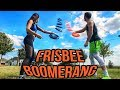 How To Throw A Frisbee Boomerang Brodie Kelsey