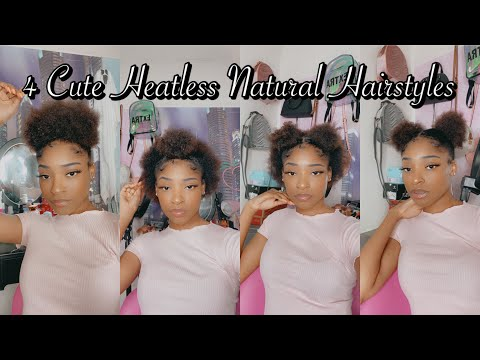 4-cute-heatless-hair-styles-for-short-natural-hair