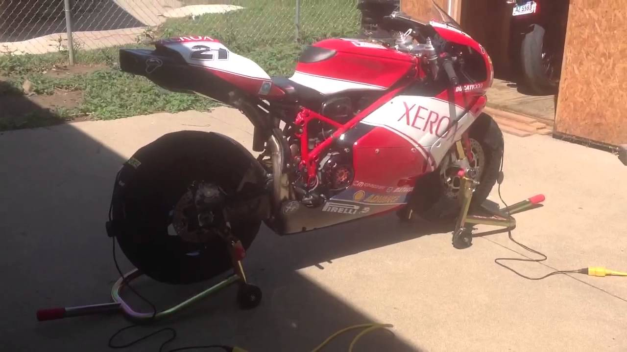 Ducati 999 Track Bike Youtube