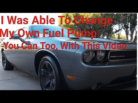 Dodge Challenger fuel pump replacement - YouTube