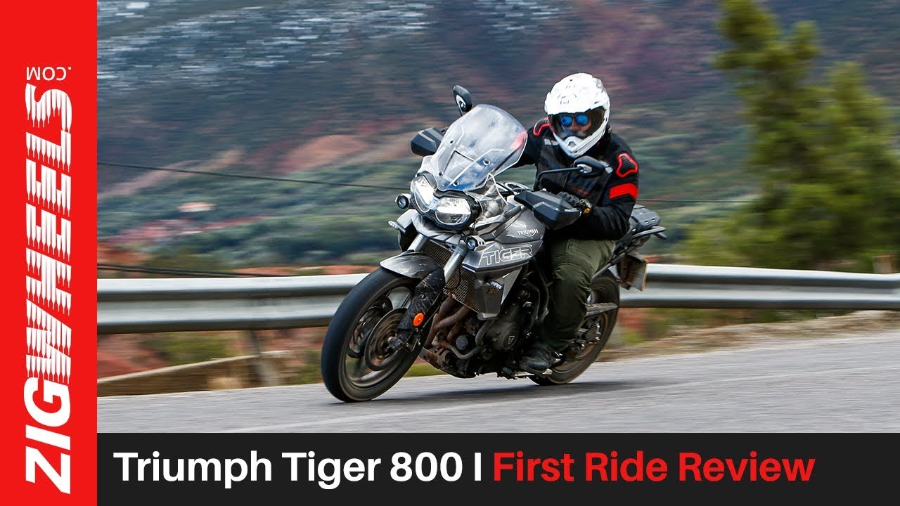 Triumph Tiger 800 & First Ride Review