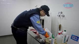 Saneado Dispenser FrioCalor en Fábrica