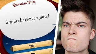 IS YOUR CHARACTER SQUARE - The Akinator