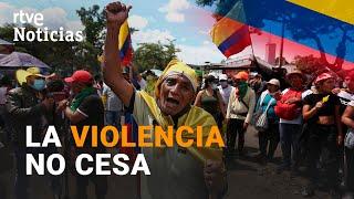COLOMBIA: El PRESIDENTE Iván Duque ordena levantar las BARRICADAS | RTVE Noticias