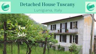 Detached House for Sale Lunigiana Tuscany | AZ Italian Properties | Properties Lunigiana | Lunigiana