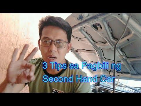 Tips sa Pagbili ng Segunda Manong Sasakyan