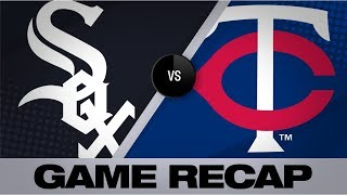 White Sox use 8 pitchers to quiet Twins, 3-1   White Sox-Twins Game Highlights 9/18/19