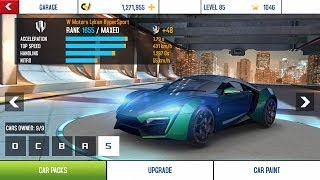 Asphalt 8 cars list | Full Upgrade | Tuning Kit Upgrade | 60 Cars List All class D C B A S