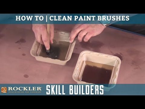 How to Clean Paint Brushes | Rockler Skill Builders