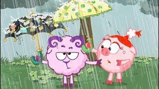 Азбука финансовой грамотности - Зонтик | Смешарики 2D. Обучающие мультфильмы