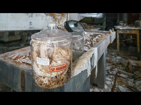 Abandoned Biohazard Hospital - Human Lung Left Behind!