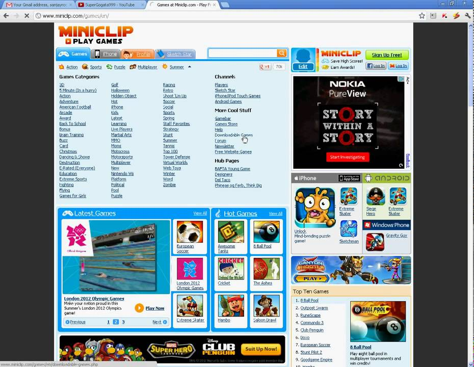 Miniclip cricket game free download.