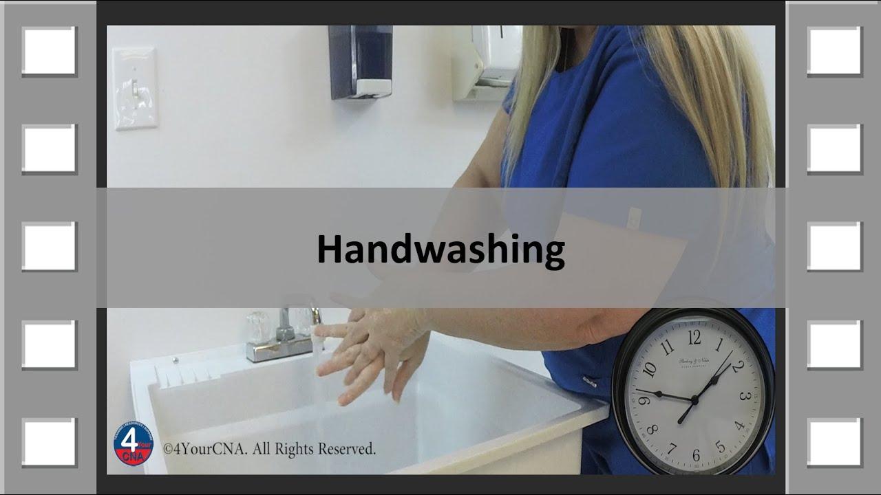 Handwashing CNA Skill NEW