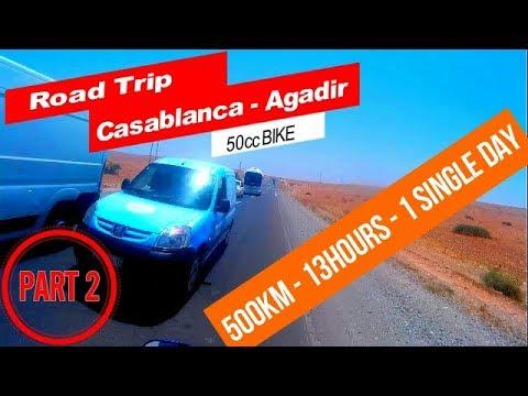 "Road trip to Agadir Part 2 ""Chichaoua-Imintanoute"""