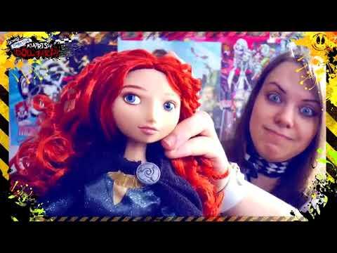 DOLLдызор #046  Talking Merida Disney Store обзор