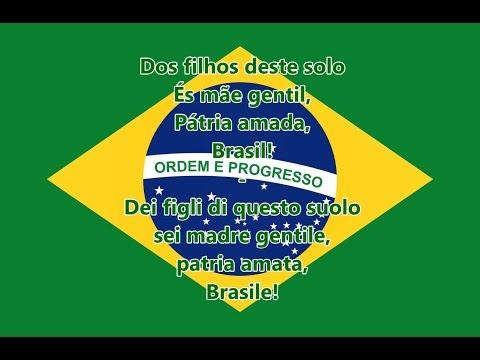Inno nazionale del Brasile (PR/IT testo)