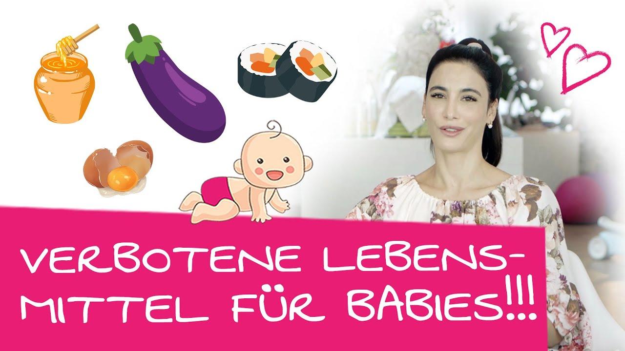 Achtung! Was Babys unter 1 Jahr nicht essen dürfen   Das darf dein Baby nicht essen!