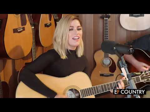 Cassadee Pope performs Wasting All These Tears at the Fender Showroom in London