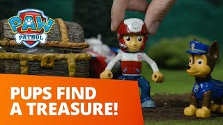 PAW Patrol | Pups Find a Treasure | Toy Episode
