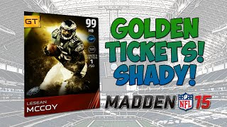 MUT 15 - GT Shady McCoy & Mike Vick! | Madden 15 Ultimate Team - NFL Movers Andre Johnson