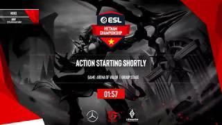 ESL Vietnam Championship - Liên Quân Mobile: HTVC IGP Gaming vs Cerberus, HTVC IGP Gaming vs SDB