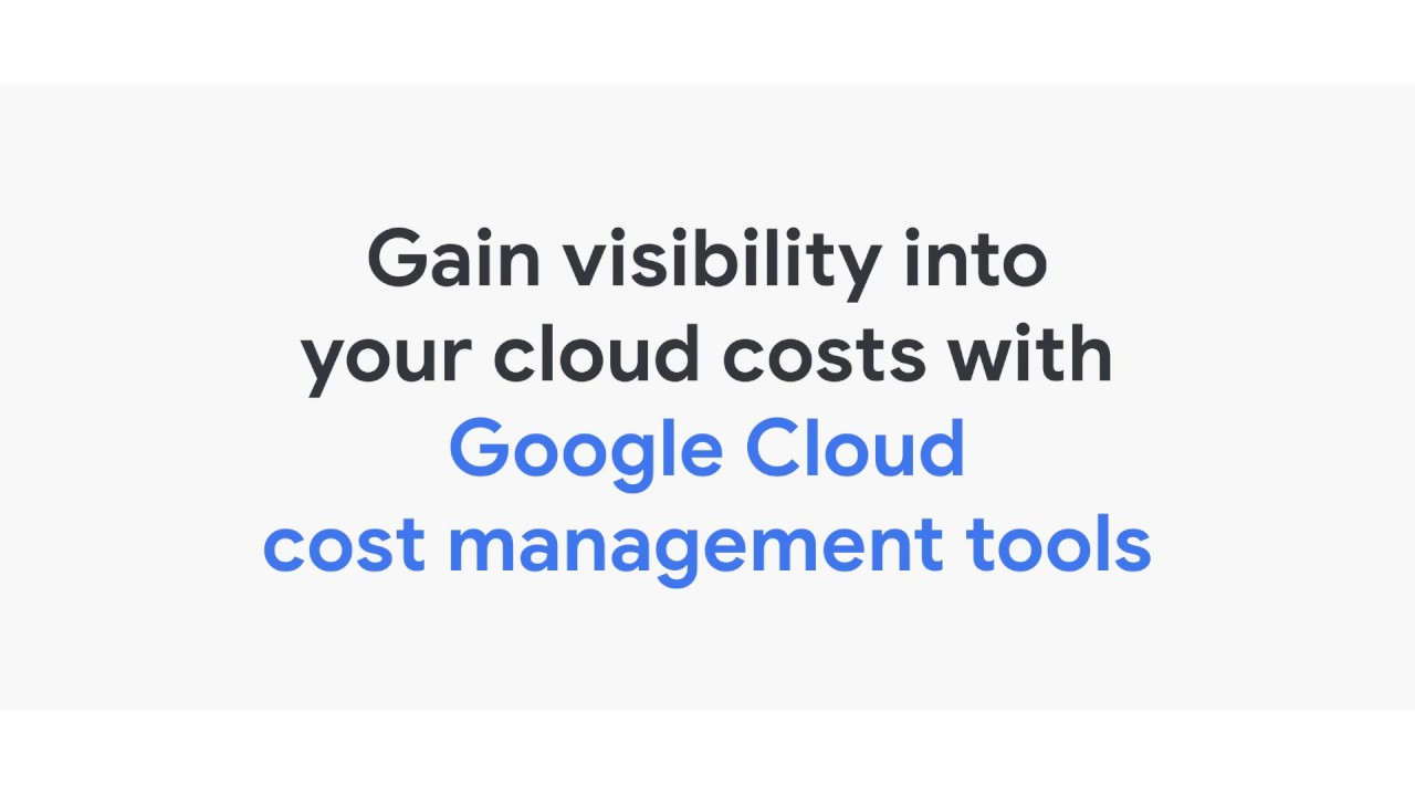 View Your Billing Reports and Cost Trends | Cloud Billing