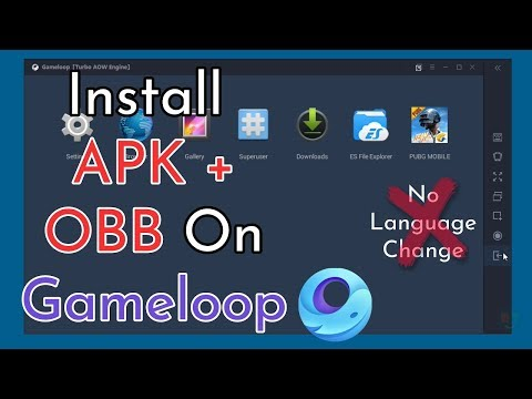 how-to-import-apk-and-obb-file-on-gameloop-||-pubg-mobile-0.18.0