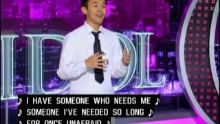 Nate Tao Auditions - American Idol Season 12 with caption.wmv