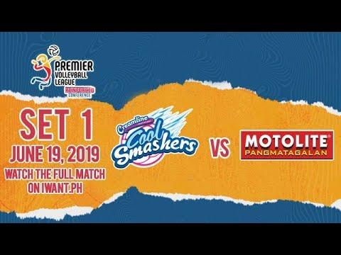 LIVE: Creamline vs. Motolite | Set 1 | June 19, 2019 #PVL2019