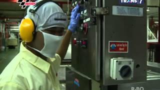 Proses Pembuatan Biskuit Coklat Timtam | Laptop Si Unyil