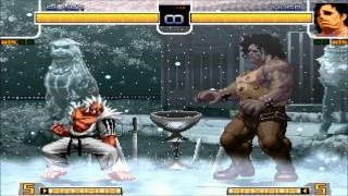 [HD] - Mugen - The King Of Fighters Ultimate - All Super Hidden Desperation Moves - Part 1