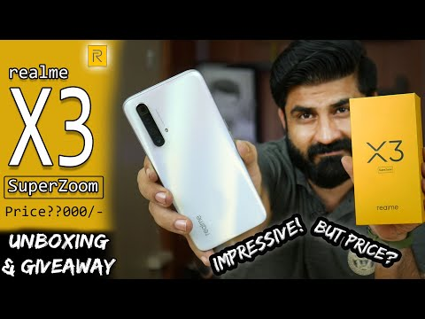 realme X3 SuperZoom ⚡⚡ UNBOXING⚡ | SD855+,120Hz DISPLAY, 12GB+256GB |PRICE ?🤔
